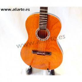 Miniatura de guitarra clásica de Paco de  Lucía