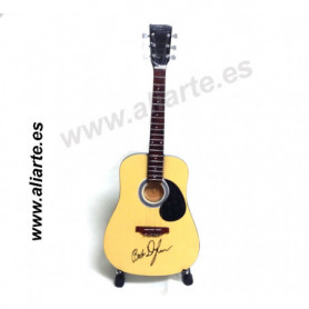 Miniatura de Guitarra de Bob Dylan