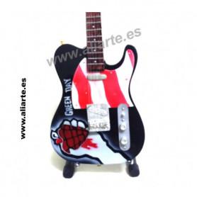 Miniatura de guitarra de Green Day 2