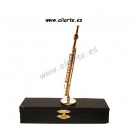 Miniatura de Flauta Travesera