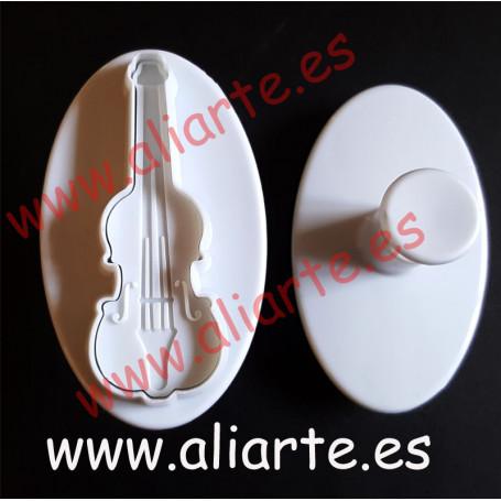 Molde en forma de violín