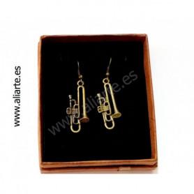 Pendientes trombón 2