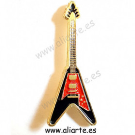 Pin guitarra Flying V