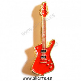 Pin guitarra roja 3