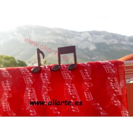 Pinza marca partituras/Pinza ropa