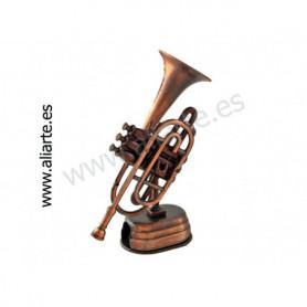 Sacapuntas en forma de trompeta