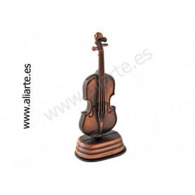Sacapuntas en forma de violín/viola