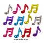 Globos con motivos musicales 2
