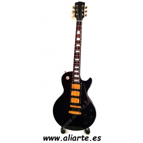 Miniatura de guitarra de Metallica Black Beaty