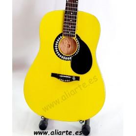 Miniatura de guitarra de Bird