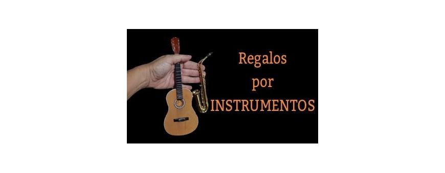 Clasificación de los regalos por instrumentos