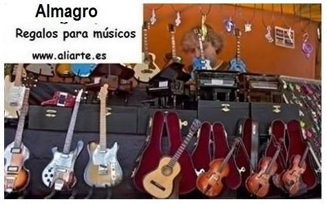 Almagro, regalos para músicos/as